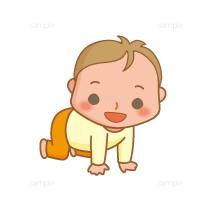 イラスト-赤ちゃん-成長