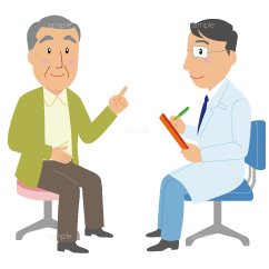 イラスト-病院-問診
