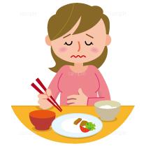 イラスト-胃痛-食欲不振