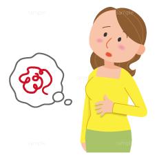 イラスト-胃痛