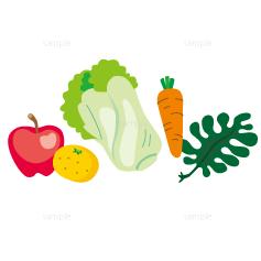 イラスト-野菜